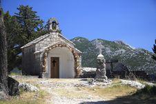 Croatian Chapel Royalty Free Stock Photos