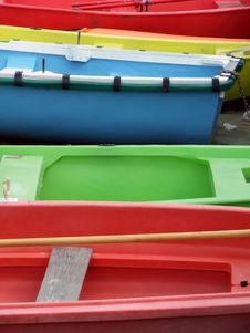 Free Colourful Boats Stock Images - 3475964