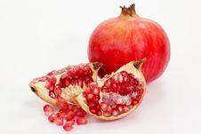Free Colorful Pomegranates Royalty Free Stock Photography - 3476137