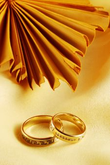 Free Wedding Rings Royalty Free Stock Photo - 3476925
