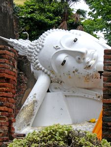 Free Reclining Buddha Royalty Free Stock Image - 3477766