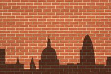 Free Wall With Shadows Royalty Free Stock Photo - 3478385
