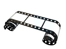 Free Curled Film Royalty Free Stock Photography - 3478487