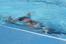Free Movement Under Water Stock Photo - 3478890