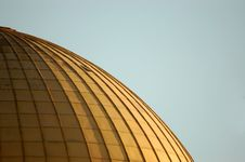Free Golden Dome. Stock Image - 3479391