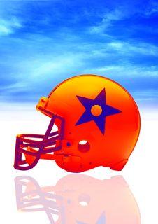 Free Helmet In Blue Stock Photos - 3479423