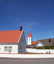Rooftops Stock Photos