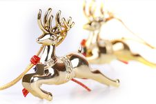 Free Deer Christmas Ornament Royalty Free Stock Image - 3479816