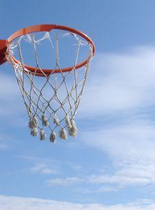 Free Basketball Hoop Royalty Free Stock Photography - 3479897
