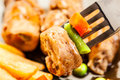 Free Close-up Of Beef Rolls Stock Photos - 34707153
