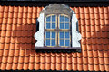 Free Window Of Attic On Old Tiled Roof Royalty Free Stock Photo - 34709405
