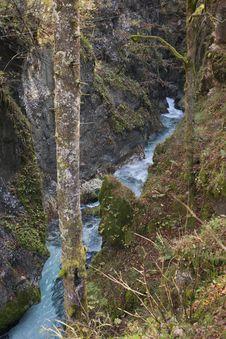 Free Predaselj Creek With A Blue Spring Royalty Free Stock Photo - 34701045