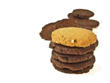 Free Cookie On Top Royalty Free Stock Photos - 34701538
