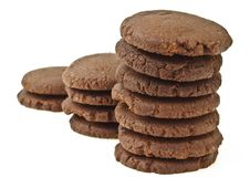 Free Step Of Chocolate Cookie Royalty Free Stock Photography - 34701617
