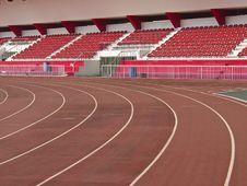 Free Stadium Track Stock Photo - 34701780