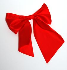 Free Red Big Bow Royalty Free Stock Photos - 34705308
