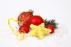 Free Christmas Decoration Stock Photo - 34705500