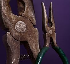 Needle-nose Pliers Stock Images