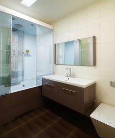 Free Interior Bathroom Modern Stock Photos - 34706363