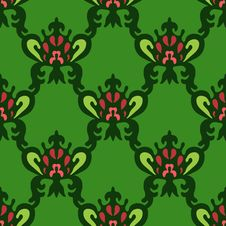 Free Seamless Royal Vector Pattern Stock Images - 34709434