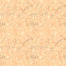 Free Seamless Beige Pattern Royalty Free Stock Photo - 34709855