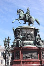 Free Monument To Imperor Nicholas I  In Saint Petersburg, Russia Stock Photos - 34715623