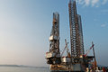 Free Jack Up Oil Drilling Rig Royalty Free Stock Image - 34715916