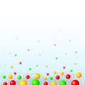 Free Background With Colorful Balls Stock Image - 34717911