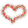 Free Abstract Colorful Heart Royalty Free Stock Photography - 34717937