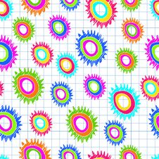 Free Seamless Color Abstract Pattern Royalty Free Stock Photos - 34713478