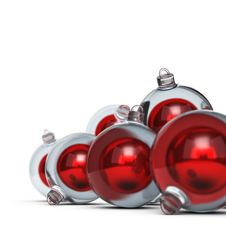 Free Christmas Balls Royalty Free Stock Photography - 34713487