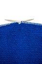 Free Unfinished Knitting Stock Photo - 34722950