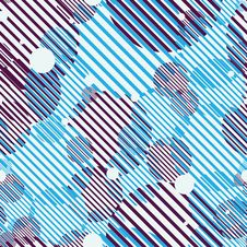 Seamless Geometric Abstract Pattern Royalty Free Stock Image