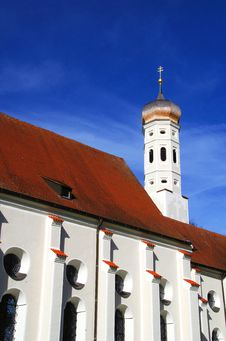 Free St. Coloman Church, Bavaria Germany Stock Image - 34723761