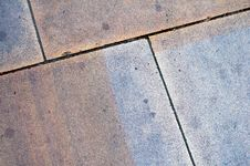 Close Up Paving Slabs Stock Photo