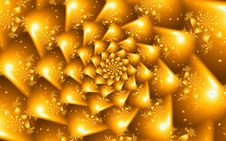 Free Spiral Fractal Flower Design Royalty Free Stock Photos - 34725078