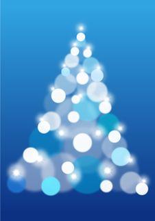 Abstract Christmas Tree, Vector Stock Photography