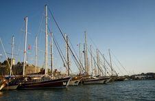 Free Yachts Stock Image - 34727771