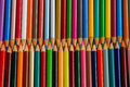 Free Rows Of Pencil Crayons Royalty Free Stock Photography - 34733757