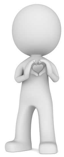 Heart In Hand Sign. Stock Images