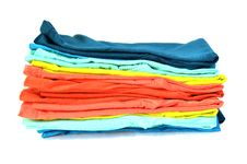 Colorful T-shirt Stock Photos