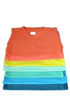 Free Colorful T-shirt Stock Photo - 34737260