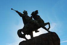 Free Bohdan Khmelnytsky Monument Royalty Free Stock Photos - 34737388