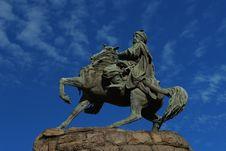 Free Bohdan Khmelnytsky Monument Stock Photos - 34737493