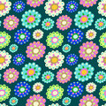 Free Seamless Color Pattern With Plenty Of Flowers Stock Images - 34742754