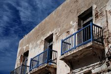 Free Old House. Essaouira. Morocco Royalty Free Stock Photo - 34742925