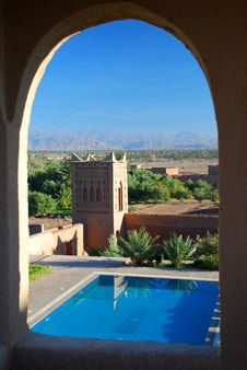 Free Landscape From A Kasbah. Skoura, Souss-Massa-Drâa Stock Images - 34744404