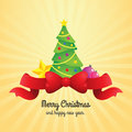 Free Christmas Tree Illustration Stock Photos - 34751083