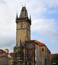 Free Old Town Hall Tower Royalty Free Stock Photo - 34758895