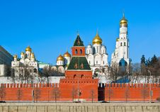 Free Moscow Kremlin Royalty Free Stock Photos - 34754828